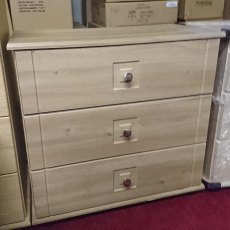 DECO 3 Drawer Wide Chest