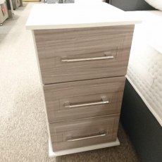 CRYSTAL 3 Drawer Narrow Chest