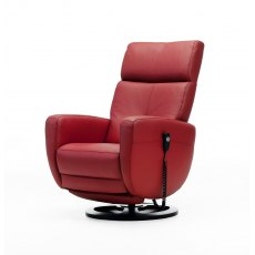 ROM Twist Swivel Recliner Chair