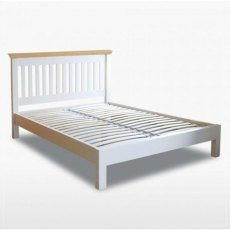 Coelo Double 4'6 Slatted Bedstead with Low Foot End