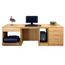 Compton Home Office Furniture Set-16