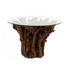 Woodland Round Teak Root Coffee Table