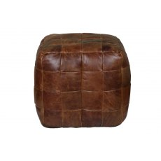 Bean Bag Cube (in Brown Cerato Leather)