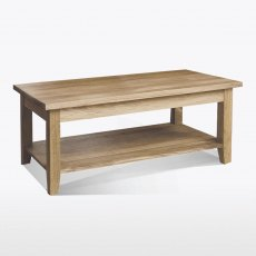 Windsor Coffee Table with Shelf