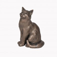 Ellie Sitting Cat Sculpture