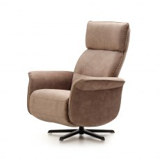 ROM Luca Swivel Recliner Chair