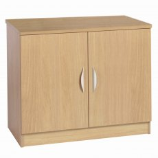 Compton Desk Height Cupboard 850mm Wide