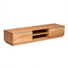 Piana Oak Long TV Unit