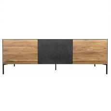 Orthello Oak 3 Door TV Unit