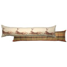 Hunter Leaping Hare Draught Excluder Cushion