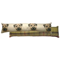 Border Terrier Draught Excluder Cushion