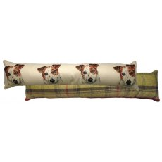 Jack Russell Draught Excluder Cushion