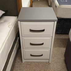 LUCERNE 3 Drawer Bedside Chest