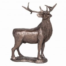 Stag Bolving Sculpture