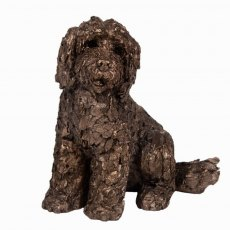 Lucy Cockapoo Sculpture
