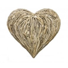 Driftwood Heart Wall Sculpture