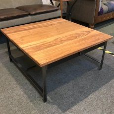 Hearts Coffee Table (with wood top)