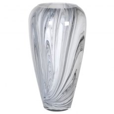 Black & White Marble Effect Vase