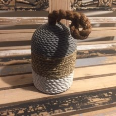 Basketweave Doorstop