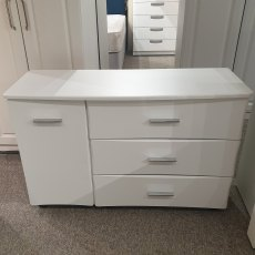 JUPITER 1 Door 3 Drawer Chest