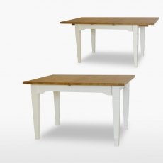 Coelo Medium Dining Table with 1 Extension Leaf